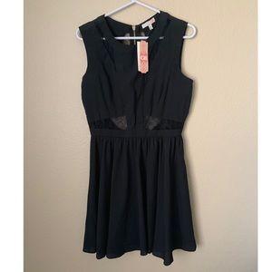 🔥30%OFF🔥🆕GB bohemian tropical black dress 9